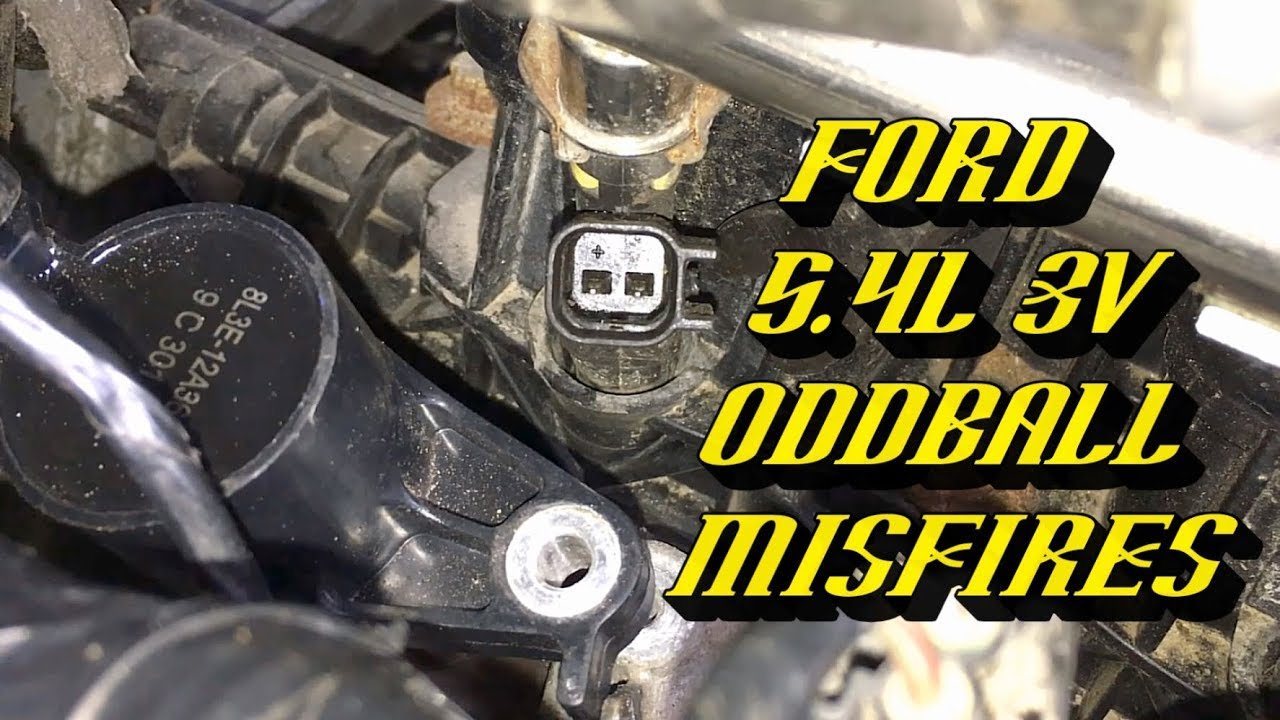 2000 Ford E350 Wiring Diagram Ford F 150 5 4l 3v Engines Hard To Diagnose Cylinder