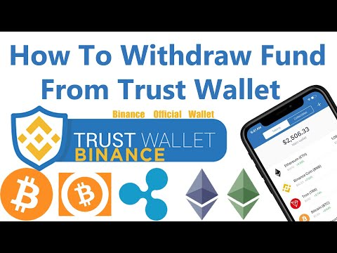 How To Transfer Fund From Trust Wallet | How To Send Recive Crypto