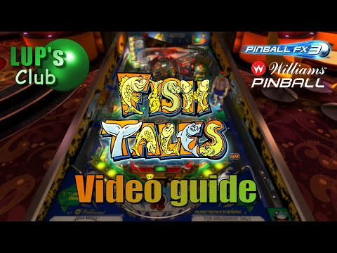Williams Pinball - Fish Tales : Video Guide
