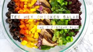 Tex Mex Chicken Salad| The 7 Systems Plan | Dr Pat Luse