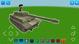 How to Make a Working Tank In Realmcraft | Itz RT