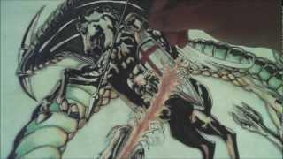Saint George Tattoo Design - Full Length (Speed Drawing)