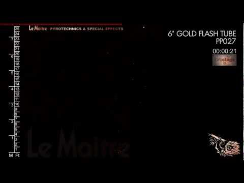 PP027 ProStage II - Flash Tube - Gold