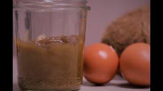 Easy 4 Ingredient Malaysian Coconut Egg jam or Kaya