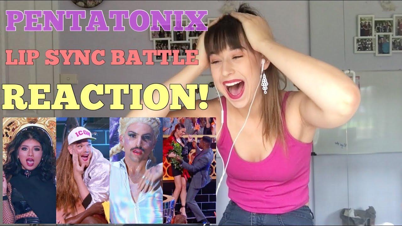 PENTATONIX LIP SYNC BATTLE REACTION!