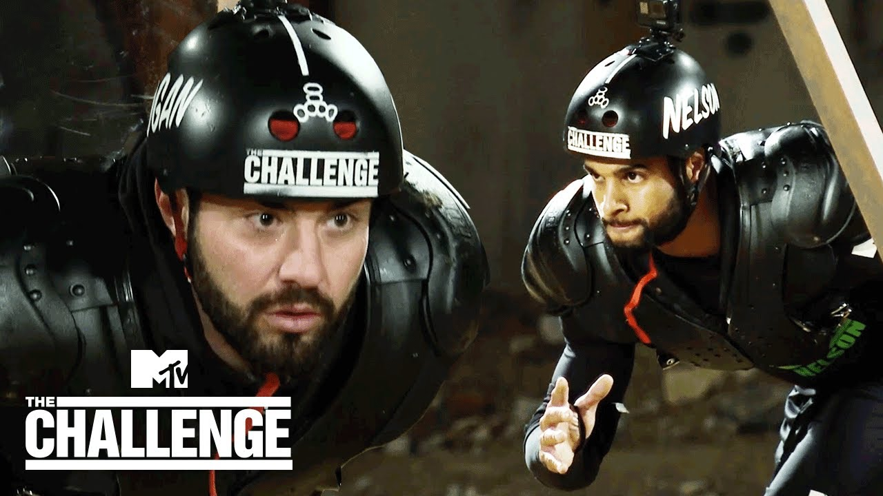 Nelson vs. Rogan's EPIC Hall Brawl Battle | The Challenge: Total Madness