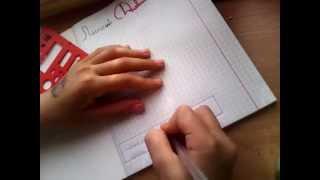 Как сделать 1 страницу своего личного дневника!!!