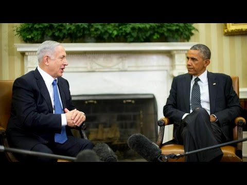 Obama, Netanyahu meet at the White House
