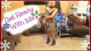 grwm young mommy christmas eve vlogmas day 24