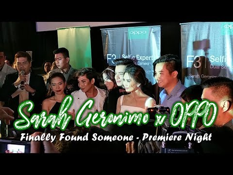 "OPPO Supports Sarah Geronimo's Movie ""Finally Found Someone"""