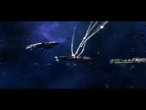 Battlestar Galactica Deadlock: Anabasis Part 2 with 2nd War Era Ships |