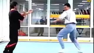 Вин Чун применение на полной скорости