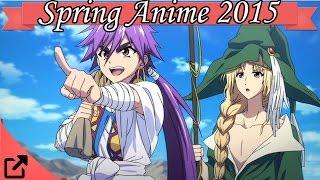 Spring Anime 2015 Top 10