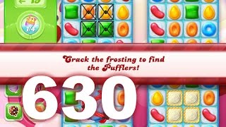 Candy Crush Jelly Saga Level 630 (3 star, No boosters)