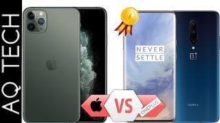 OnePlus 7 Pro VS Iphone 11 Pro Max || Full Comparison In Specs || WINNER & LOSSER |\ AQ TECH ||