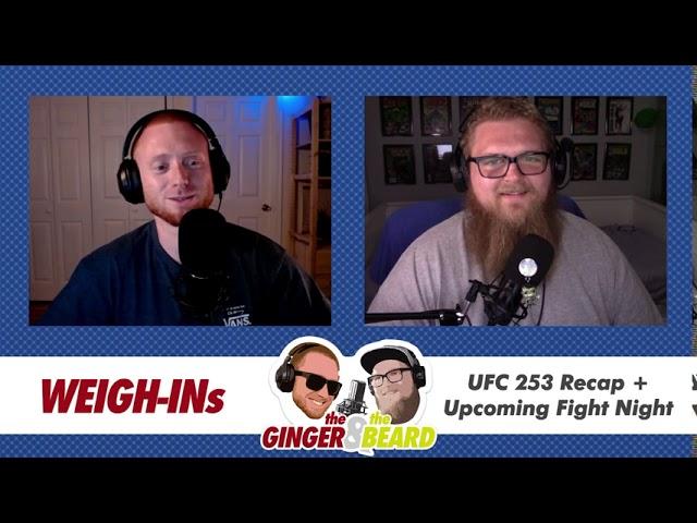 UFC 253 Recap, Conor McGregor Charity Fight, & What's Next for Jon Jones - Weigh-Ins 008 - 9/29/20