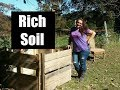 Using FREE Resources to make RICH soil for spring!