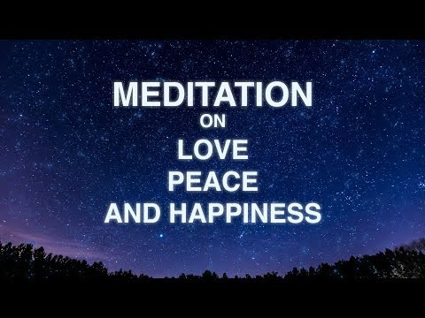 Guided Mindfulness Meditation on Love, Peace, and Happiness (16 Minutes)