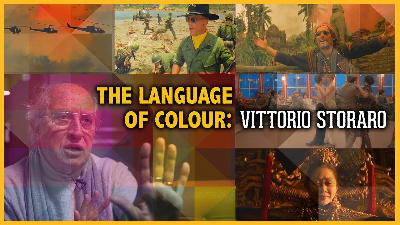 Cinematography: The Language of Colour || Vittorio Storaro