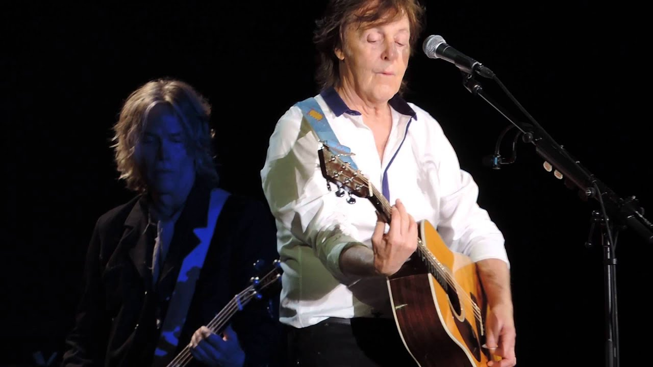 Paul McCartney And I Love Her Out There Tour Live In Washington DC 7 12 2013