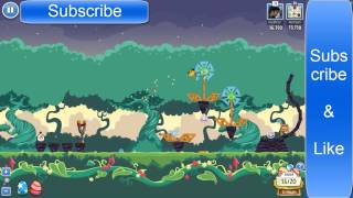 Angry Bird Friends Pig Tales LEVEL- 2 Mighty Eagle 100% & High Score:- 73,390 ( FaceBook)