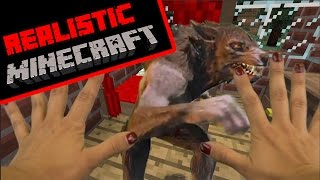 realistic minecraft little red riding hood story part 2 of 2 role play