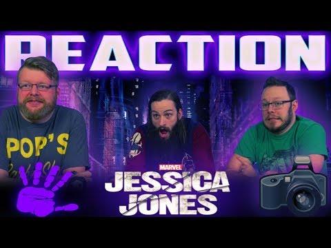 Marvel's Jessica Jones - Season 2 Official Trailer REACTION!!
