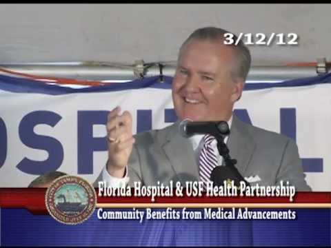 Florida Hospital & USF Health Partnership Press Conference