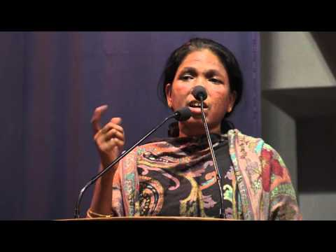 Soni Sori speaking at CLC meeting on 'Civil and Democratic Rights - State Repression'