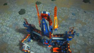 70353 + 70361 Frightful Knight Flight - LEGO NEXO KNIGHTS