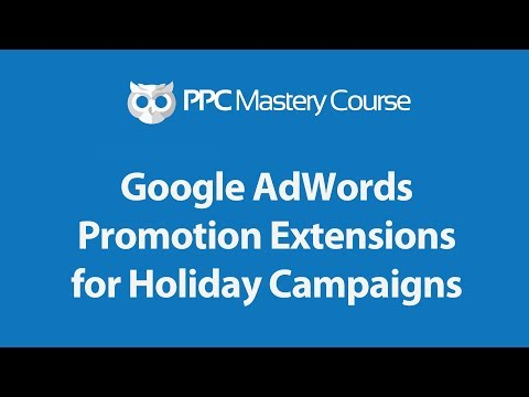 How to use the AdWords promotion extension