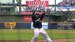 2011 NLCS Gm1: Prince powers out a go-ahead two-run homer