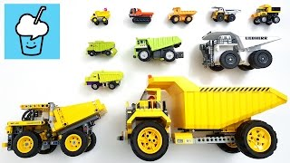 Dump Truck for children kids and more with tomica トミカ lego technic transformer toy story