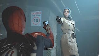Black Cat Points A Gun At Spider man Ps4 re2 Mod