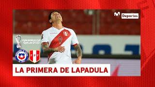 Perú vs Chile: Gianluca Lapadula se generó opción de gol | Fecha 3 Clasificatorias Qatar 2022