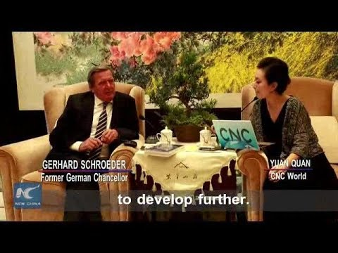 TALK SPECIAL-Schroeder: China, Germany can work closer in green development