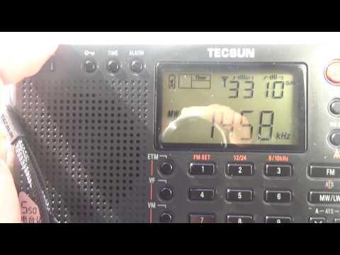 Radio Gibraltar 1458 OM desde San Fernando Cadiz