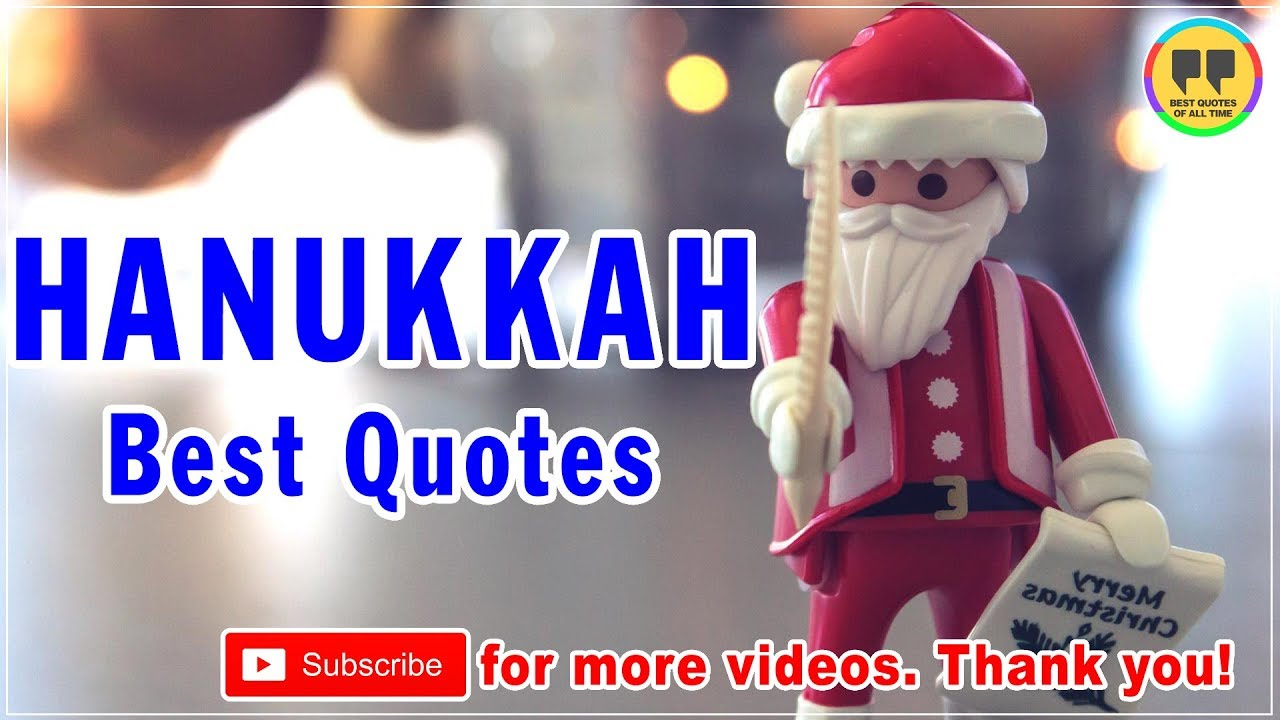TOP 25 HANUKKAH QUOTES   Best Christmas Quotes