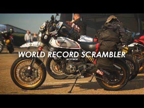 Henry Crew's Ducati Scrambler Desert Sled