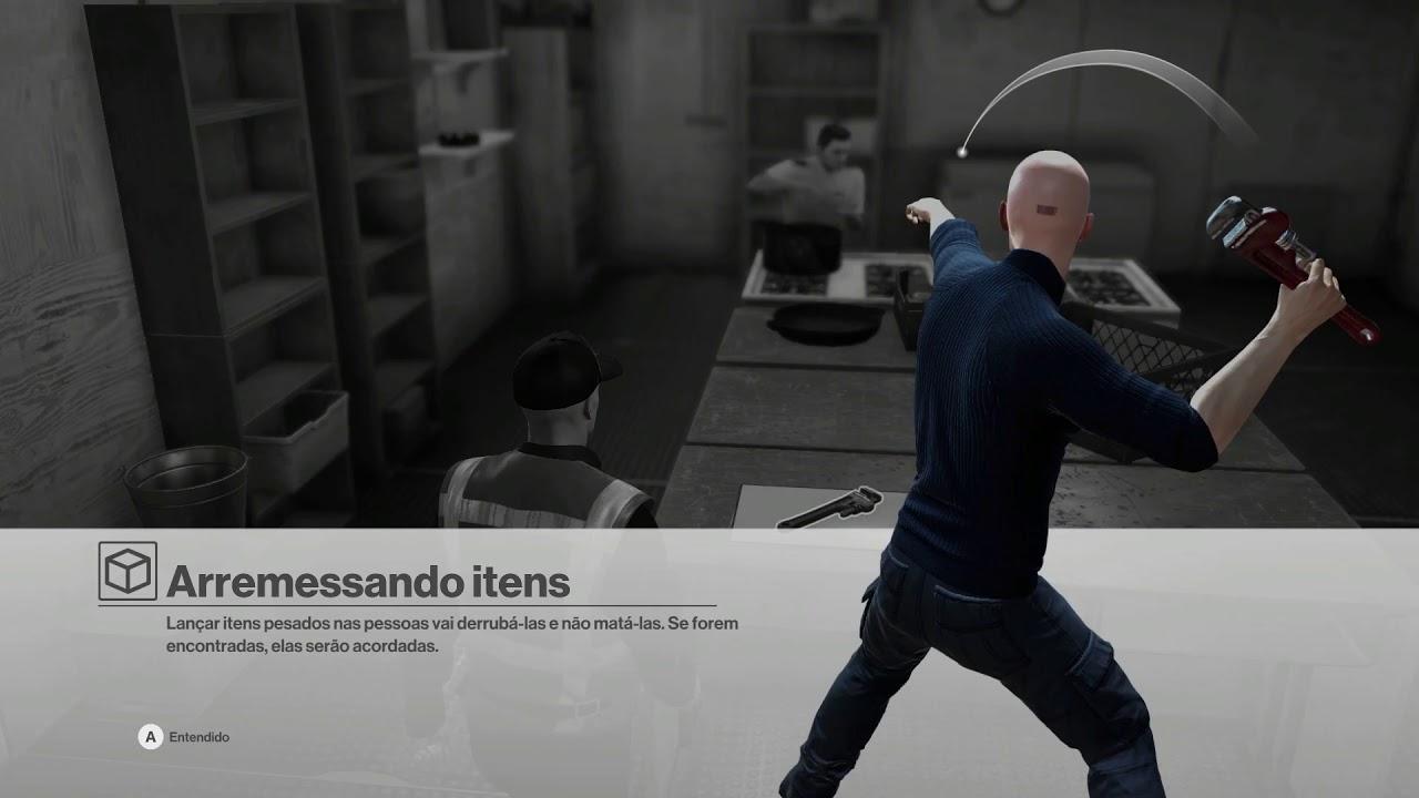 Hitman Goty Edition Gameplay 1080p Ultrawide 60fps Pc Pt Br Sem Comentários Youtube