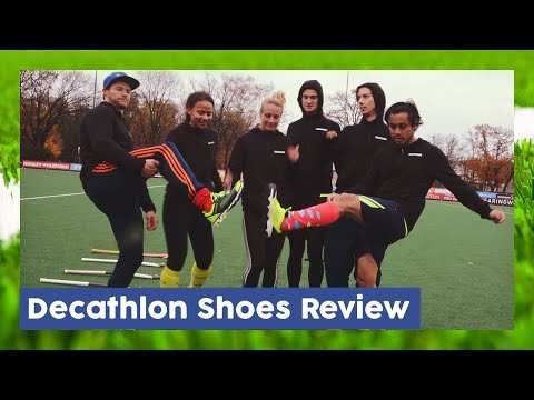 Decathlon Shoes Review - Field Hockey Gear  | Hockey Heroes TV