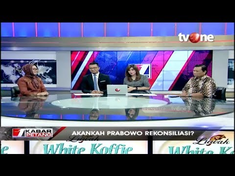 Dialog TvOne: Akankah Prabowo Rekonsiliasi?