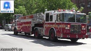 FDNY Fire Response (+Ambulance)