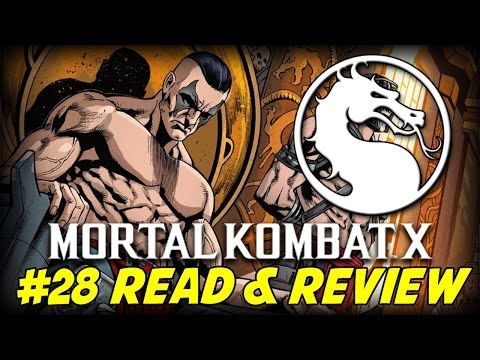 Mortal Kombat X #28 Reikos Blood Reigns (Read & Review)