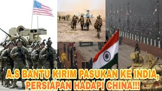 ADA APA INI ? AMERIKA KIRIM PASUKAN KE INDIA!!