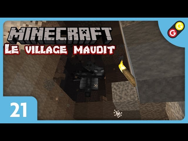 Minecraft - Le village maudit #21 On attaque le Wither ! [FR]