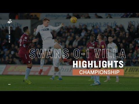 Highlights: Swans 0-1 Aston Villa
