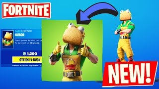 NUOVO SHOP FORTNITE PATCH 10.30 NUOVA SKIN GUACO ED EMOTE TACO MANIA