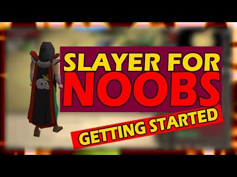 [OSRS] How To Get Started With SLAYER   Slayer For Noobs