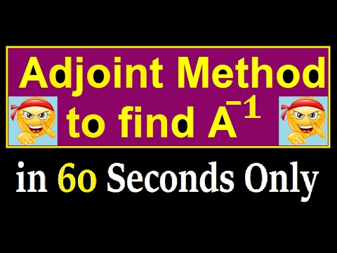 how to take adjoint of a 3x3 matrix